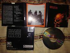 SEPULTURA RARE FIRST PRESS CD,soulfly,deftones,metallica,slayer,korn,slipknot