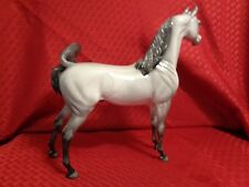 Beautiful Peter Stone DAH Design a Horse Grey Arabian Stallion Custom Model