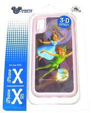 Disney DTech iPhone 10 X Xs Case✿ Small World Clock Peter Pan Wendy Tinker Bell