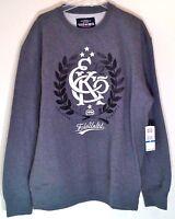 NWT Ecko Unltd Authentic Mens Sweatshirt Original Vandals Gray Skater Hip Hop