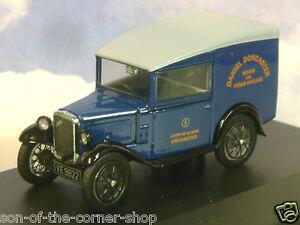 Oxford 1/43 Austin Seven 7 Rn Furgoneta Daniel Doncaster Motor & Steam Haulage