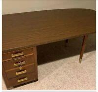 Vintage Mid-Century Jasper Desk