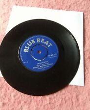 """Tommy BURTON COMBO-BLEU LAVANDE. Vinyle 7""""45RPM. Blue Beat. EXC"""