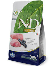 Farmina N&D Grain Free Adult Lamb and Blueberry for cats Farmina N&D