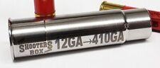 12GA to 410GA Shotgun Adapter - Stainless Steel - Free Shipping!
