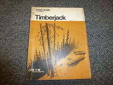 Timberjack 360TPG 360GPG 230GSG Grapple Skidder Parts Catalog Manual 0761A