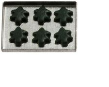 Dollhouse Miniatures 1:12 Scale Christmas Tree Cookies On Sheet #IM65122