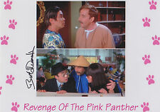 Revenge of the PINK PANTHER personally signed 10x8 BURT KWOUK as CATO