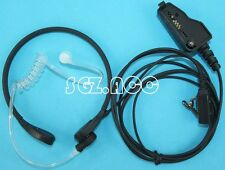 FBI Style Throat Mic Headset/Earpiece VOX/PTT For Kenwood Radio TK-5320 ,NX-200.