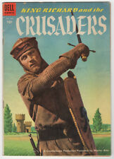 KING RICHARD AND CRUSADERS  DELL FOUR COLOR 588  1954  REX HARRISON