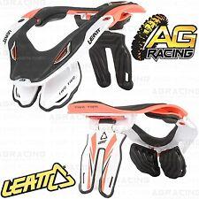 Leatt 2014 GPX 5.5 Neck Brace Protect Orange White Large Xtra Large Adult Enduro