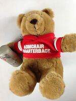 Armchair Quarterback Bear Brew VTG 1986 Stuffed Emotions Beer Can Football Plush