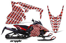 AMR Racing Yamaha Viper Graphic Kit Snowmobile Sled Wrap Decal 13-14 ARGYLE RED