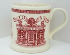 NEW! Mason's Crabtree & Evelyn 1988 Red Ironstone Mug