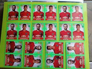 🔥MASON GREENWOOD x10 Stickers ROOKIE  FIFA 365 2020 Manchester United Panini 🔥