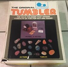 The Original Thumler's Tumbler Model T 100 Rock Polisher Brand New Needs Belt