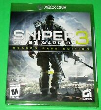 Sniper: Ghost Warrior 3 Season Pass Edition Xbox One *New! *Sealed! *Free Ship!