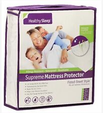 Healthy Sleep Supreme Mattress Protector Fitted Sheet Style Twin size