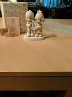 Precious Moments Figurine 5 Year Anniversary God Blessed Our Years Together 1983