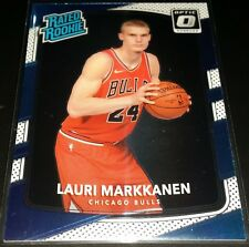 Lauri Markkanen 2017-18 Donruss Optic Rookie Card (no.159)