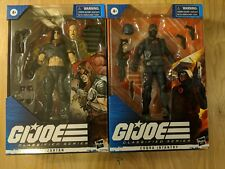 GI Joe Classified Series ZARTAN & COBRA INFANTRY IN HAND