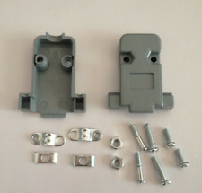 10 Pcs Plastic Cover Housing Hood For D-SUB 9 Pin 2 Rows DB9 Serial