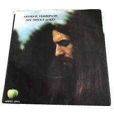 George Harrison My Sweet Lord Apple 2995 W/PS! Near Mint! Beatles