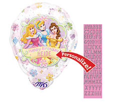 Disney Princess PERSONALIZED Add a Name Party Balloon