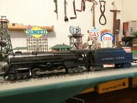Lionel Postwar 681 PRR Turbine Loco & 6466W tender serviced & ready to work ! !