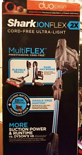 New Shark IONFlex 2X DuoClean Cordless Ultra-Light Vacuum IF252