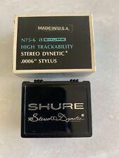 Shure M75-6 Stereo HiFi Turntable Stylus Box