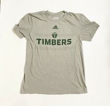 ADIDAS Portland Timbers Short Sleeve T-Shirt Mine's Size S
