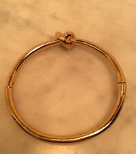 Sailors Knot Bangle Bracelet Kate Spade Gold Tone