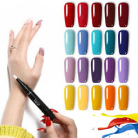 LEMOOC 88 Colors Gel Nails Polish Soak off Gel  Nail Art Designs UV LAMP