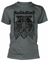 Official Hawkwind T Shirt Doremi Charcoal Mens Unisex Classic Rock Metal Tee New