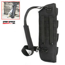 Tactical Rifle Scabbard Holster Shotgun Rifle Carrier Body Cross Belt Gun Bag