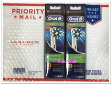 ORAL B CROSS ACTION ELECTRIC TOOTHBRUSH REPLACEMENTS HEADS REFILLS 6 PIECES