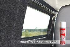 2m x 2m Anthracite Coloured Super Stretch Van Lining Carpet Inc 2 x Trimfix Glue