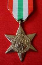 MEDALS - BRITISH WWII. ITALY STAR MEDAL. FULL SIZE.