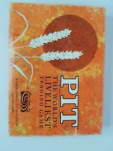 Vintage 1964 Pit Card Game by Parker Brothers Good Condition Complete