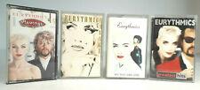 Eurythmics Bundle - 4x Audio Cassettes - FREE UK P&P - Tested & Working