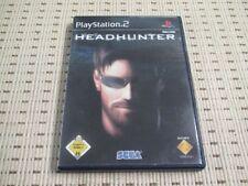 Headhunter für Playstation 2 PS2 PS 2 *OVP*