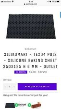 SILIKOMART - TEX04 POIS - SILICONE BAKING SHEET 250X185 H 6 MM