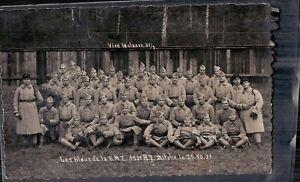 Le bleus    153° R.I.  Bitche le 25.10.1931