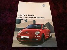 VW New Beetle Brochure 2007 - July 2006 issue inc 1.8 T & Cabriolet