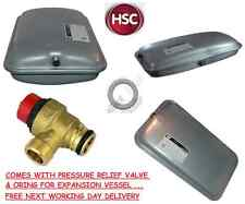 VAILLANT ECOTEC PLUS EXPANSION VESSEL 181051, WASHER & PRV 178985 NEW FREE POST