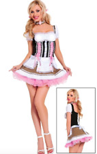 Sexy vixen Heidi Ho Beer Girl Adult Womens Costume Oktoberfest NAUGHTY Halloween