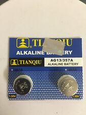 2x AG13 LR44 357 157 303 A76 LR154 L1154 1.5V Alkaline Battery