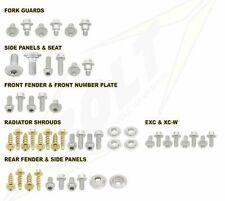 kit viti bulloneria plastiche KTM SX EXC XC-W Husqvarna FC FE TC Bolt moto cross