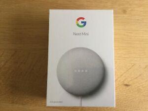 Google mini nest. Chalk. New.